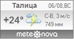 Погода от Метеоновы по г. Талица