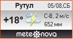 Погода от Метеоновы по г. Рутул