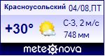 Погода в Красноусольском - установите себе на сайт информер с прогнозом погоды
