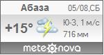 Погода от Метеоновы по г. Абаза