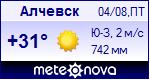 Погода в Алчевске - установите себе на сайт информер с прогнозом погоды