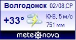 Погода в Волгодонске - rp5 ru