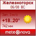 Погода от Метеоновы по г. Железногорск