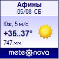 Погода от Метеоновы по г. Афины