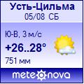 Погода от Метеоновы по г. Усть-Цильма