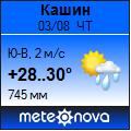Погода отМетеоновы пог. Кашин