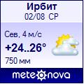 Погода от метеоновы по г ирбит