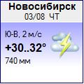 Погода от Метеоновы по г. Новосибирск