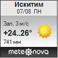 Погода от Метеоновы по г. Искитим