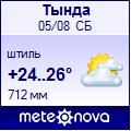 Погода от Метеоновы по г. Тында