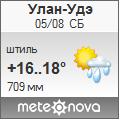 Погода от Метеоновы по г. Улан-Удэ