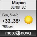 Погода от Метеоновы по г. Маркс
