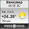 Погода от Метеоновы по г. Ванкувер