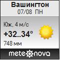 Погода от Метеоновы по г. Вашингтон