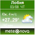 Погода от Метеоновы по г. Лобня