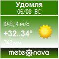 Погода от Метеоновы по г. Удомля