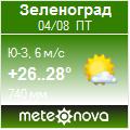 Погода от Метеоновы по г. Зеленоград