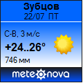 Погода отМетеоновы пог. Зубцов