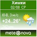 Погода от Метеоновы по г. Химки