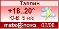 Погода от Метеоновы по г. Таллин