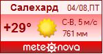 Погода от Метеоновы по г. Салехард
