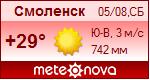 Погода от Метеоновы по г. Смоленск