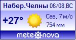 Погода от Метеоновы по г. Набережные Челны