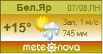 Погода от Метеоновы по г. Белый Яр