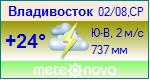 Погода от Метеоновы по г. Владивосток