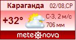Погода от Метеоновы по г. Караганда