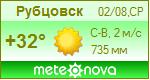 Погода от Метеоновы по г. Рубцовск