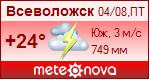 Погода от Метеоновы по г. Всеволожск