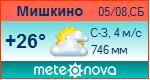 Погода от Метеоновы по г. Мишкино (Курган.)