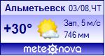 Погода от Метеоновы по г. Альметьевск