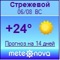 Погода от Метеоновы по г. Стрежевой