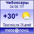Погода от Метеоновы по г. Чебоксары