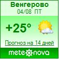 Погода от Метеоновы по г. Венгерово