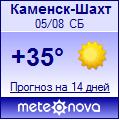Погода от Метеоновы по г. Каменск-Шахтинский