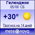 Погода от Метеоновы по г. Геленджик