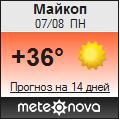 Погода от Метеоновы по г. Майкоп