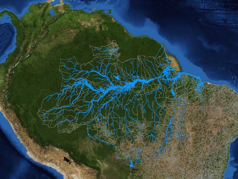 Река амазонка картинки на карте теплице замечаете